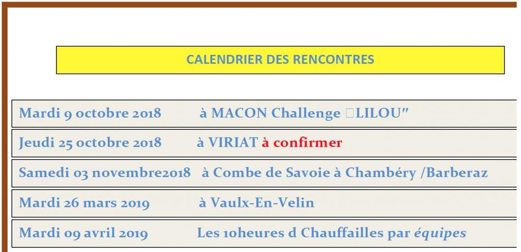 Photo calendrier Tennis