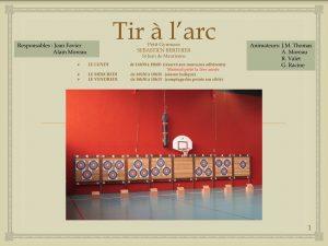 Photo tablette Tir à l'Arc