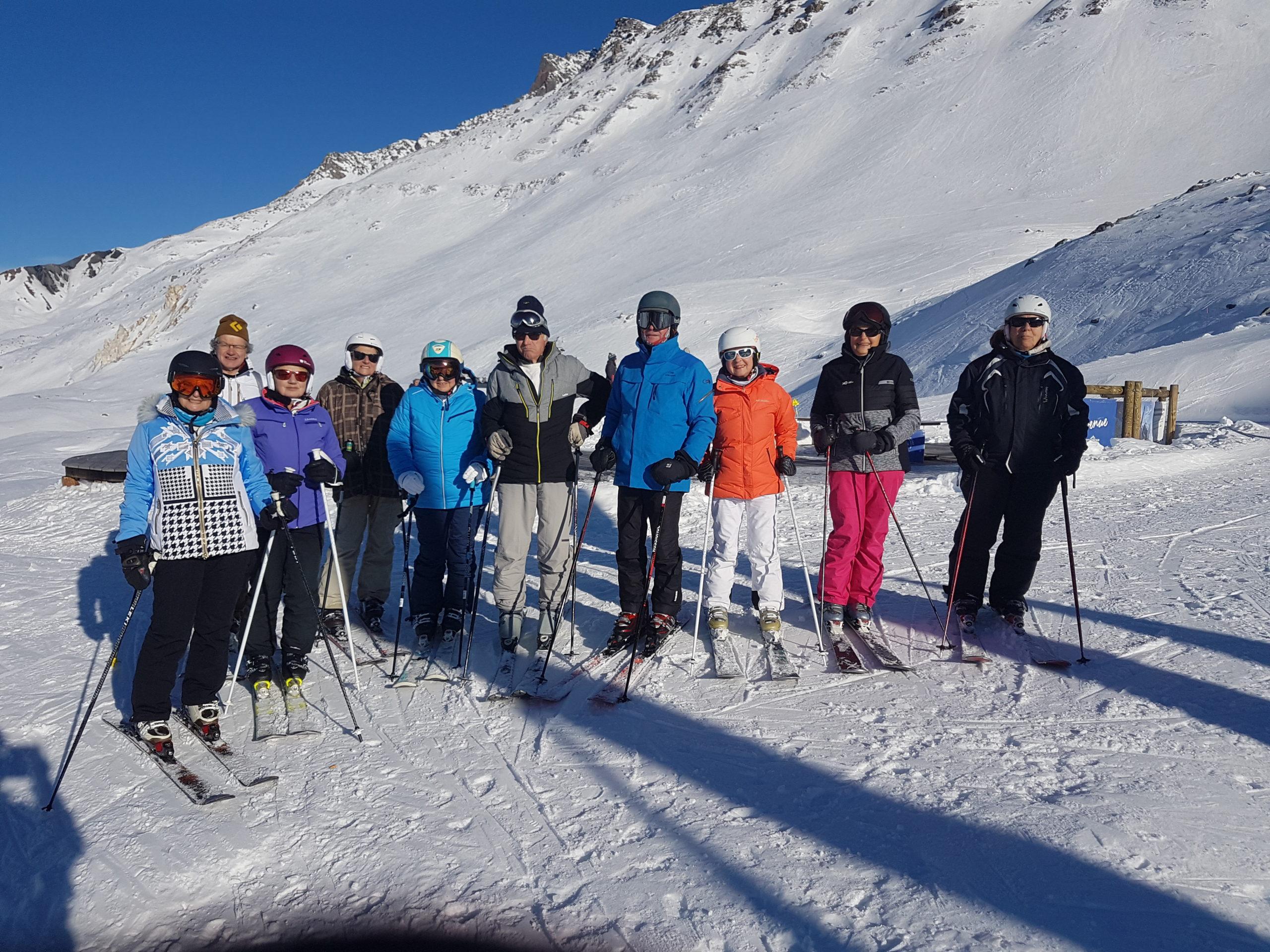 MS au ski à St François Longchamp
